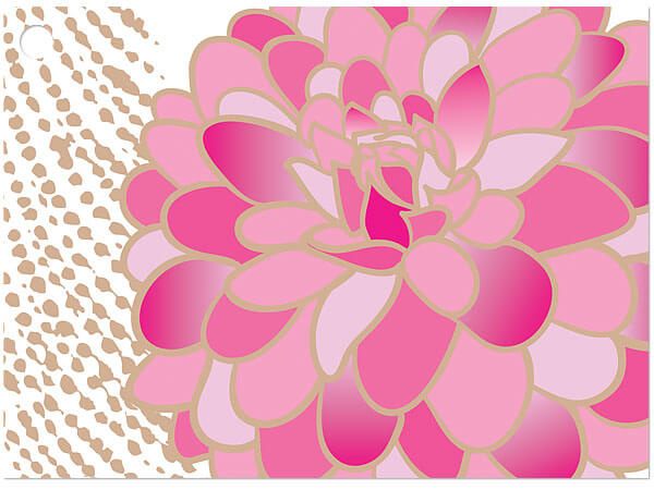 """Gilded Blooms Gift Cards 3-3/4x2-3/4"""""""