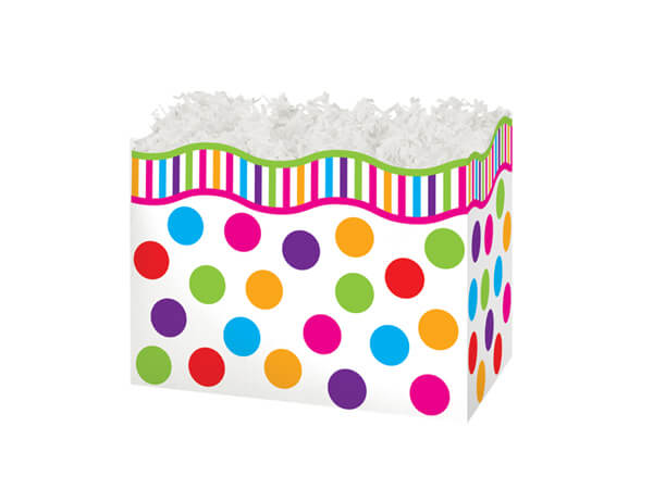 """Small Gumballs Basket Boxes 6-3/4x4x5"""""""
