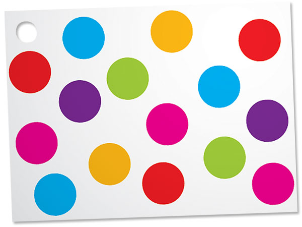 Gumballs Theme Gift Cards 3-3/4x2-3/4""