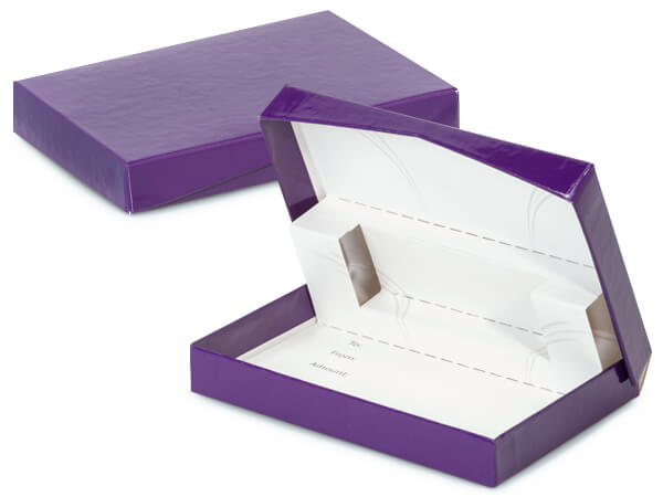 Purple Pop-Up Gift Card Box