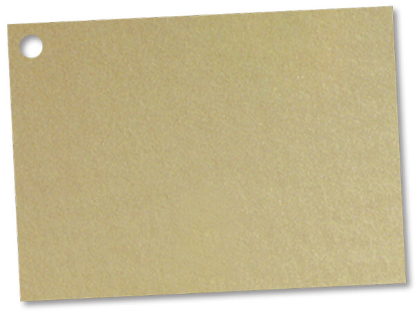 Solid  Metallic Gold Theme Gift Cards  3-3/4x2-3/4""