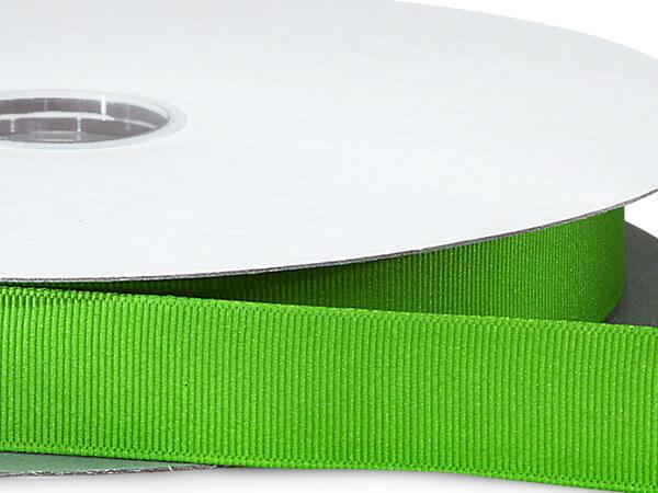 "Apple Green Grosgrain Ribbon 7/8""x100 yds 100% Polyester"