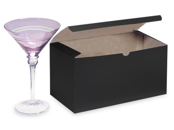 """Black Gloss Gift Boxes 9x4.5x4.5"""""""
