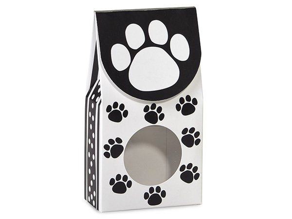 "Polka Dot Paws Gourmet Window Boxes, Large 4x2.5x8.5"", 6 Pack"
