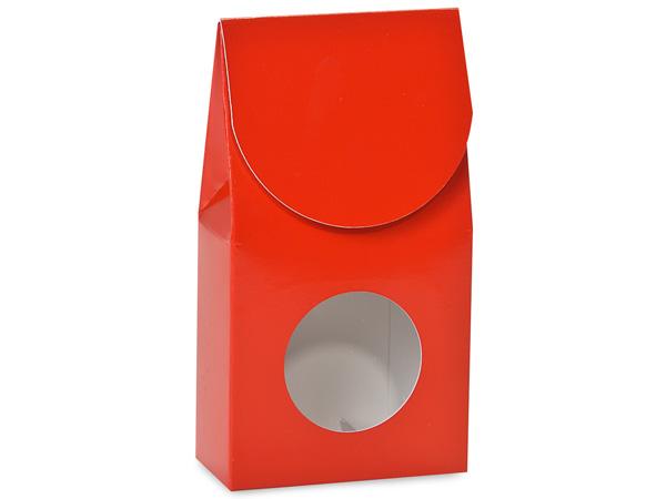 "Red Gourmet Window Large 4x2.5x8.5"""