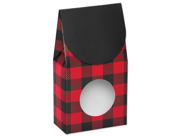 Buffalo Plaid Gourmet Window Boxes