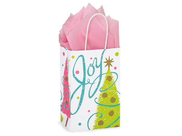 Rose Golden Wishes Bags 250 5-1/4x3-1/2x8-1/4""