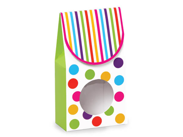 """*Gumballs Gourmet Window Boxes, Small 3.5x1.75x6.5"""", 6 Pack"""