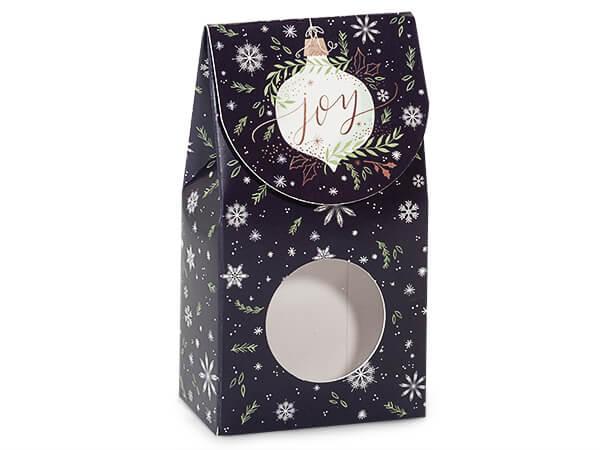 """Ornament Joy Gourmet Window Box, Small 3.5x1.75x6.5"""", 6 Pack"""