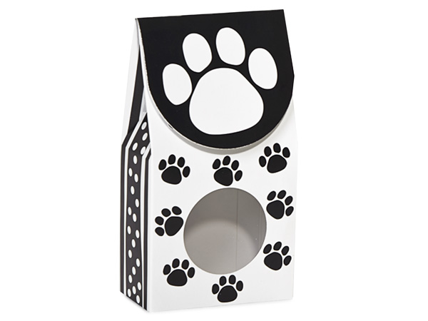 "Polka Dot Paws Gourmet Window Boxes, Small 3.5x1.75x6.5"", 6 Pack"