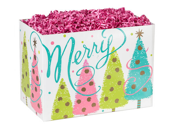 Small Golden Wishes Basket Boxes 6-3/4x4x5""