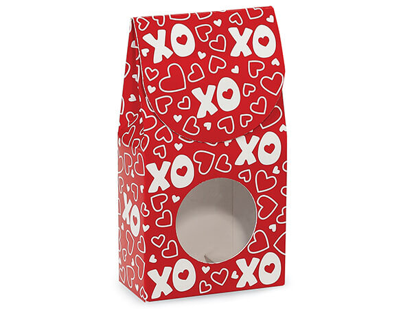 "XOXO Gourmet Window Boxes, Small 3.5x1.75x6.5"", 6 Pack"