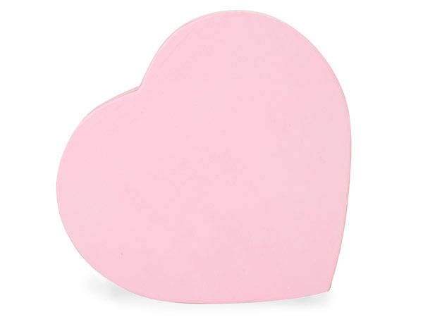 "Pretty Pink Heart Boxes, Small 6.75x6x1.25"", 3 Pack"