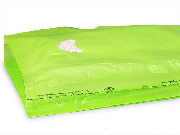 """Citrus Hi-D Bags 13x3x21"""" Recycled Plastic w/ Handles .70 mil"""