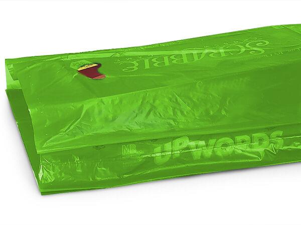 """Citrus Hi-D Bags 16x4x24"""" Recycled Plastic w/ Handles .75 mil"""