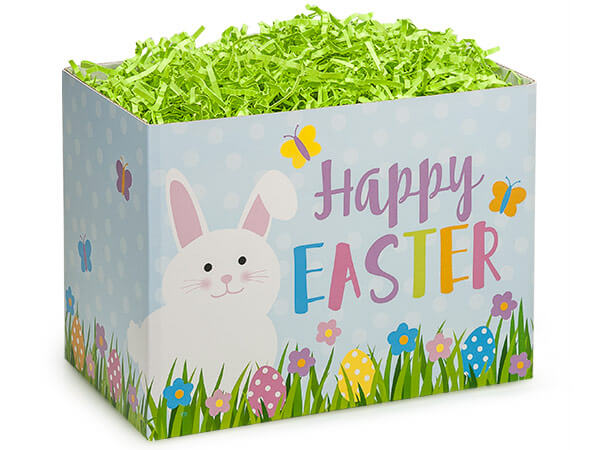 "Happy Easter Basket Boxes, Large 10.25x6x7.5"", 6 Pack"