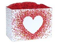 Nashville Wraps Heart Confetti Basket Boxes