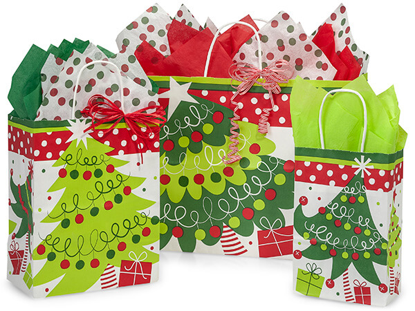 *Jolly Christmas Trees 125 Bag Assortment
