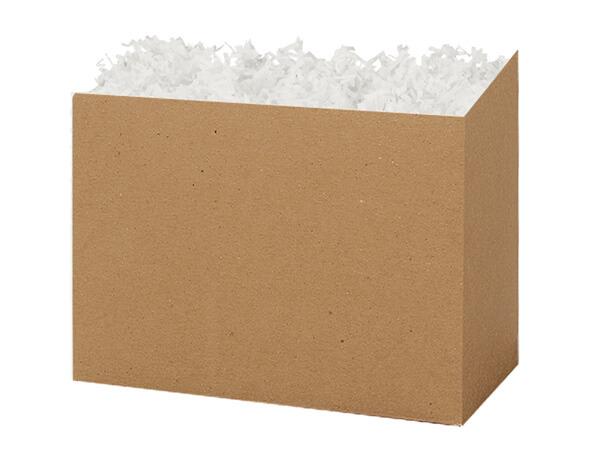 "Medium Solid Kraft Basket Boxes 8-1/4x4-3/4x6-1/4"""