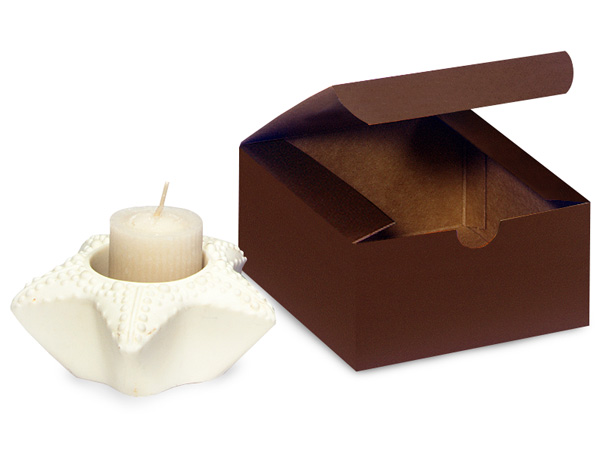 """Chocolate Gift Boxes 4x4x2"""""""