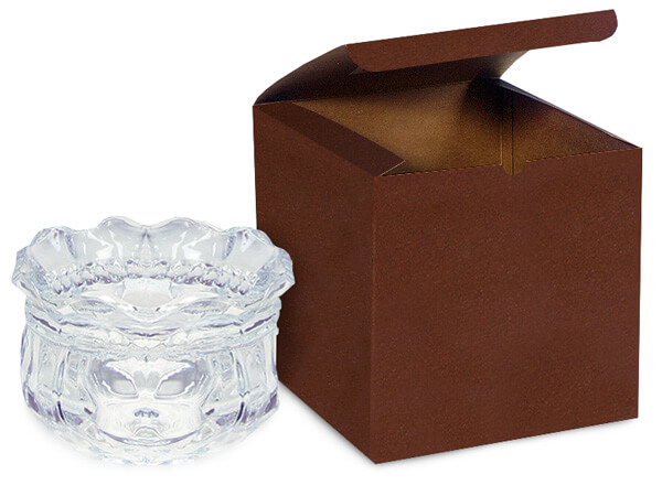 """Chocolate Gift Boxes 6x6x6"""""""