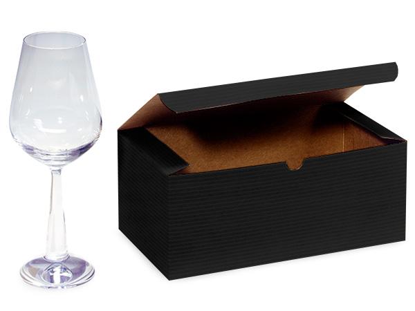 "Black Gift Boxes 9x4.5x4.5"""