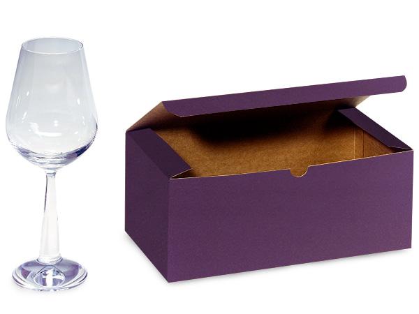 "Deep Purple Gift Box 9x4.5x4.5"""