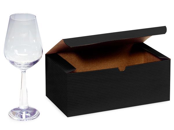 "Black Gift Boxes 10x5x4"""