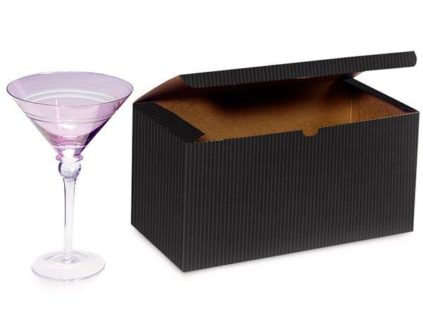 "Black Gift Boxes 12x6x6"""