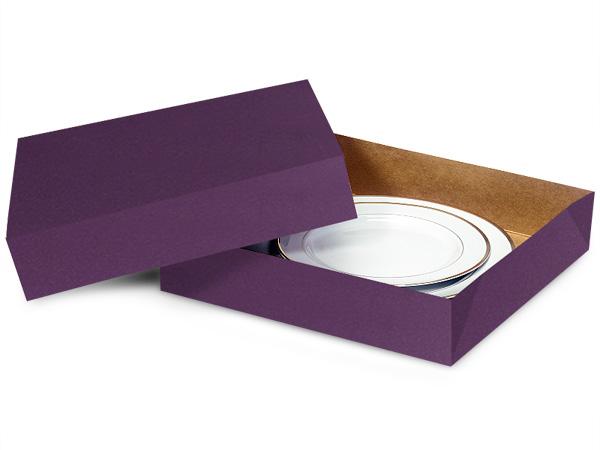 "Deep Purple Gift Box 12x12x2.5"""