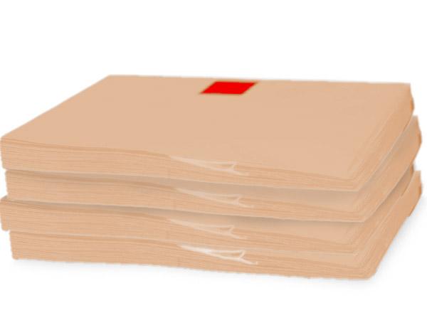 "Kraft Recycled Tissue Paper, 20x30"" Carton of 5, Bulk 960 Sheet Packs"