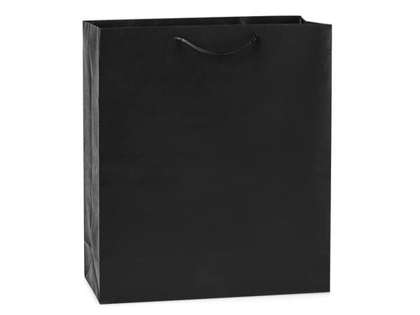 "Black Kraft Gift Bags, Queen 16x6x19"", 100 Pack"