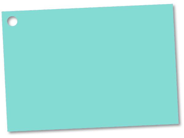 Aqua Blue Gift Card