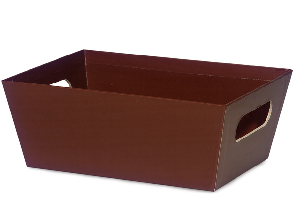 Chocolate Large Wide Base Tray