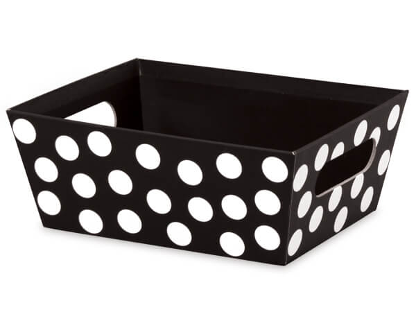 Domino Dots Wide Base Market Tray