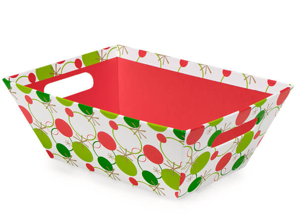 Hip Holiday Market Trays Large 7-1/2x9-7/8x3-1/2""