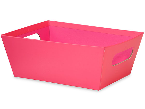 Hot Pink Large Wide Base Tray
