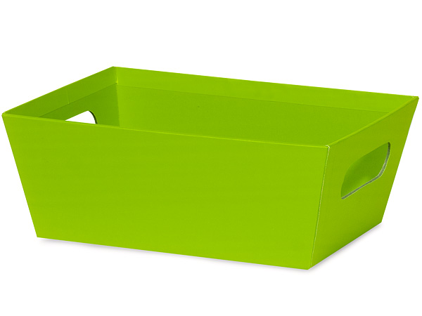 Lime Wide Base Trays