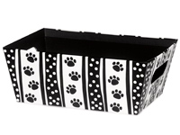 Polka Dot Paws Beveled Market Trays