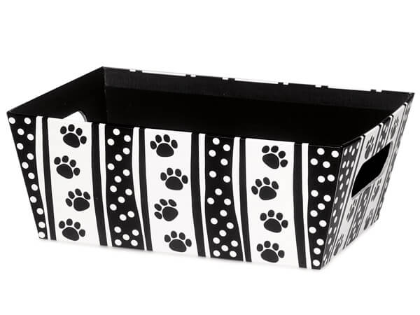 Polka Dot Paws Large Wide Base Tray
