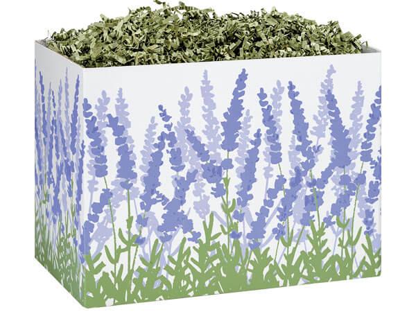 Lavender Field Basket Boxes