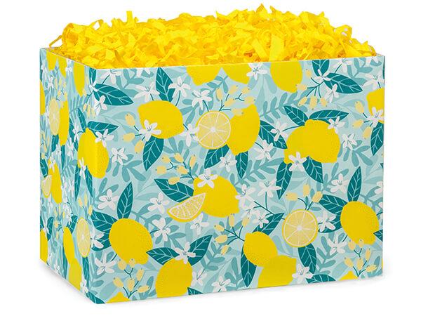 Lemon Blooms Basket Boxes