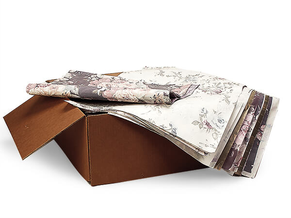 "Recycled Light Weight Packing Paper 20 x 30"" Sheets 50lb Carton"