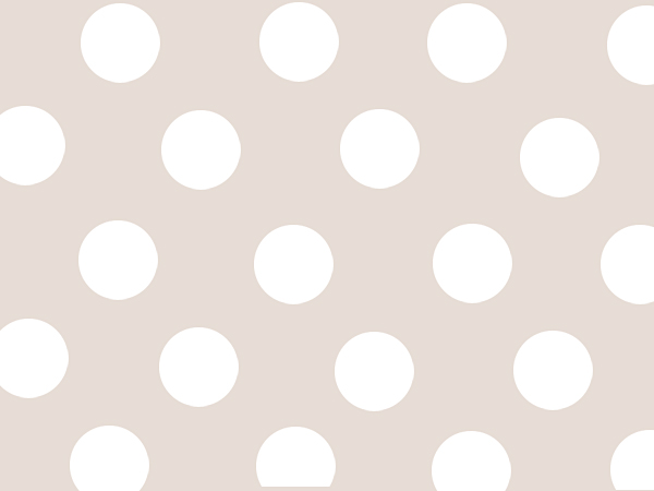 "Polka Dot Pearl  24""x417' Gift Wrap Half Ream Roll"
