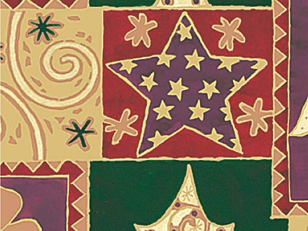 "Elegant Christmas Gift Wrap 24""x417 Gift Wrap Half Ream Roll"