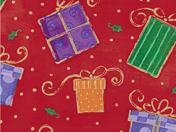 """Glamorous Gifts Gift Wrap 30""""x417' Gift Wrap Half Ream Roll"""