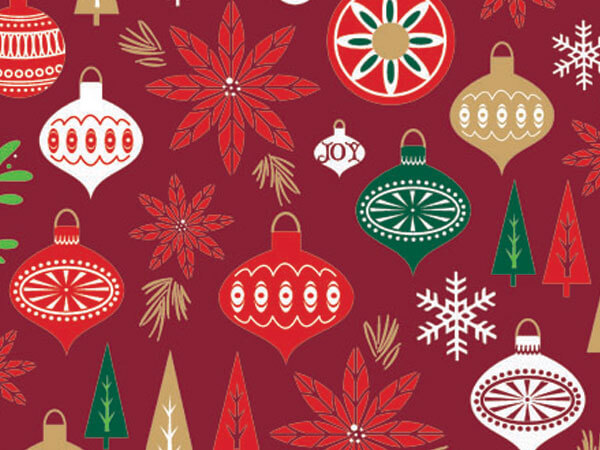 """Holiday Happening 24""""x100' Gift Wrap Roll"""