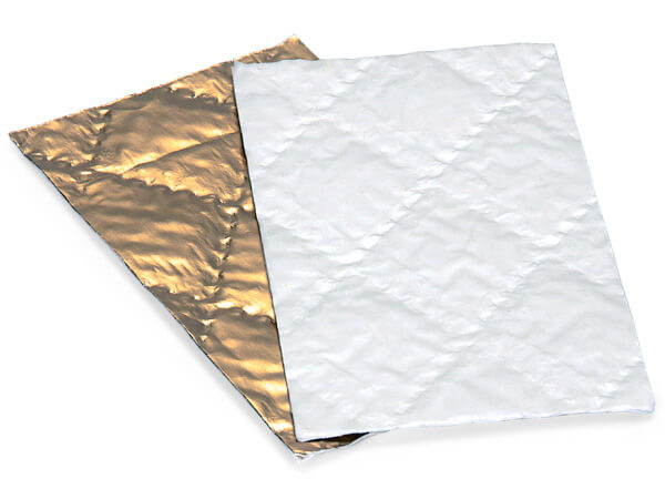 """6-1/4x3-1/2""""  Gold Candy Pads"""