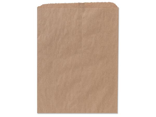 """Brown Kraft Paper Merchandise Bags, 10x13"""", 100  Pack"""