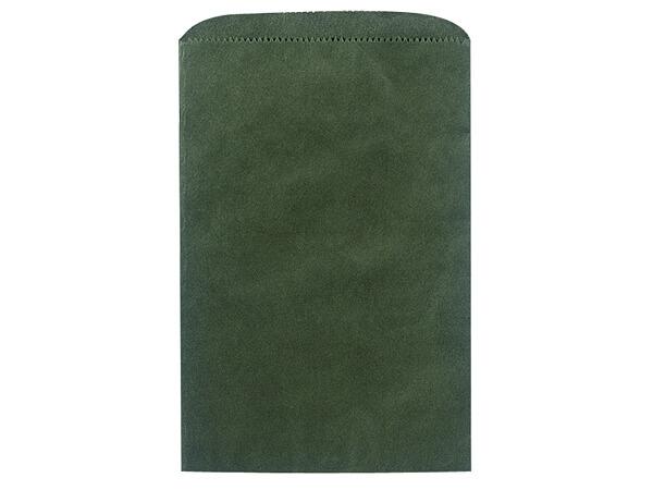 """Hunter Green Merchandise Bags 6.25x9.25"""""""